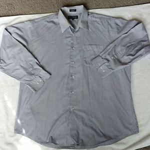 Mens dress shirt Bergamo NY 17 1/2